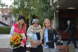 Elea, Céline et Margot